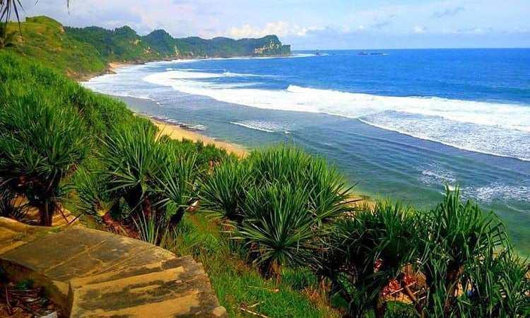 pantai banyutowo wonogiri