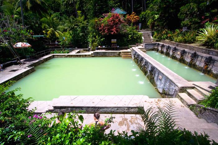 wisata air panas banjar